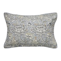 Morris And Co Wandle Oxford Pillowcase Grey