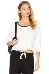 Nation Ltd. Noelle Crop Tee White