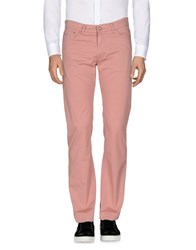 Harmont And Blaine Casual Pants Pastel Pink