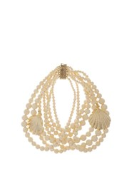 Rosantica By Michela Panero Spiaggia Seashell Charm Necklace Ivory
