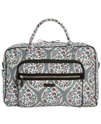 Vera Bradley Iconic Extra Large Weekender Travel Bag Heritage Leaf