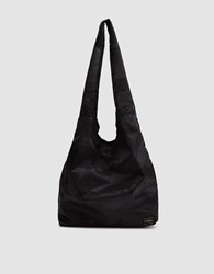 Porter Yoshida And Co. Camouflage Packable Shopping Bag In Woodland Black