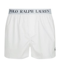 Polo Ralph Lauren Slim Fit Boxer Shorts Male White
