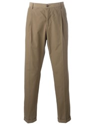Dolce And Gabbana Classic Chinos Green