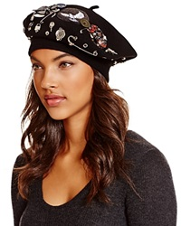 Marc By Marc Jacobs Beret With Pins Show Baret
