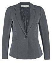 Only Stuzo Blazer Dark Grey Melange Mottled Dark Grey