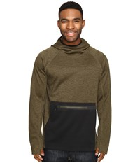686 Glcr Exploration Pullover Tech Fleece Olive Heather Men's Fleece