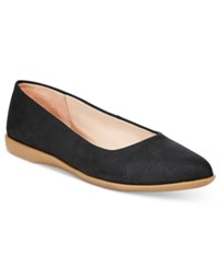 Easy Spirit Madella Pointed Toe Flats Women's Shoes Black