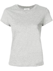 Courreges Printed T Shirt Grey
