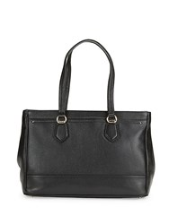 Cole Haan Tali Leather Tote Black