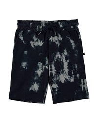 Molo Arnt Tie Dyed Cotton Shorts Multi