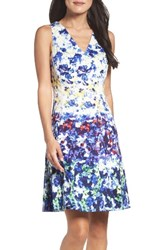 Maggy London Women's Fit And Flare Dress