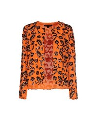 French Connection Suits And Jackets Blazers Women Orange