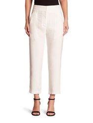 Adam By Adam Lippes Cropped Pants Ivory