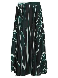 Sportmax Denis Skirt Dark Green Multi