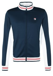 Fila Ole Tracksuit Top Peacot Blue Dark Blue