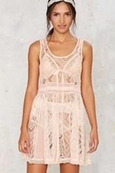 Nasty Gal Not Your Babydoll Lace Dress