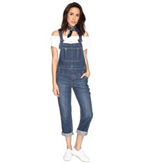 Free People The Boyfriend Overalls Blue Women's Overalls One Piece