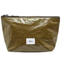 Wtaps Large Mag Zip Travel Pouch Green