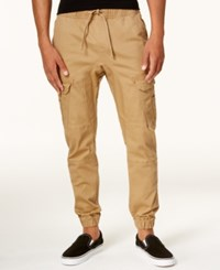 Ring Of Fire Men's Stretch Jogger Pants Created For Macy's Dull Gold