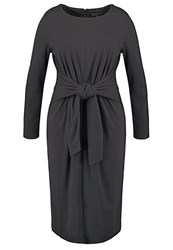 Eloquii Jersey Dress Black