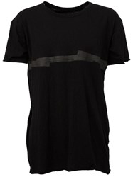 Isaac Sellam Experience Round Neck T Shirt Black