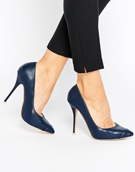 Paper Dolls Point Court Shoes Navy