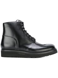 Grenson 'Grover' Wedge Boots Black