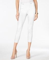 Styleandco. Style And Co. Petite Pull On Capri Leggings Only At Macy's Bright White
