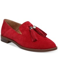 Franco Sarto Hadden Loafer Flats Women's Shoes Vintage Red