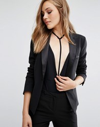 Supertrash Jarling Button Detail Jacket Black