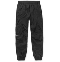 Vetements Reebok Tapered Shell Sweatpants Black