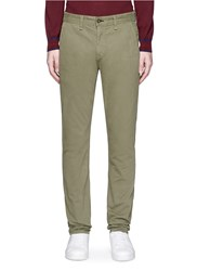 Rag And Bone 'Standard Issue Fit 2' Cotton Chinos Green
