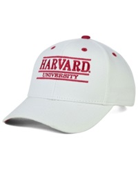Game Harvard Crimson Classic 3 Bar Cap White