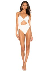 L Space Miss Molly One Piece White
