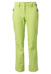 Jack Wolfskin Activate Winter Trousers Glowing Green Light Green