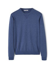 Mango Round Neck Sweater Navy