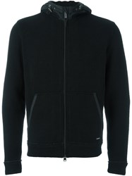 Woolrich Zip Up Hoodie Black