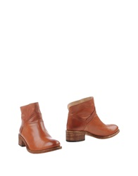 Sessun Ankle Boots Brown