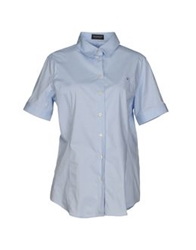 Brooksfield Shirts Sky Blue