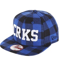 Crooks And Castles Thuxury Chain Strapback Cap True Navy