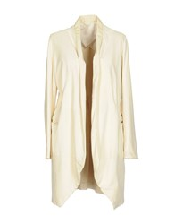 Brian Dales Overcoats Ivory