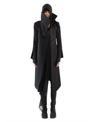 Demobaza Metatron Wool And Cashmere Blend Coat