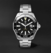 Tag Heuer Aquaracer Automatic 43Mm Steel Watch Black