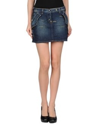 Parasuco Cult Denim Skirts Blue