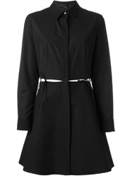 Alexander Wang A Line Shirt Dress Black
