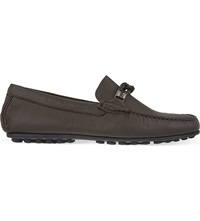 Corneliani Hamptons Braided Driving Shoes Brown