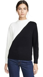 Knot Sisters Image Sweater Black