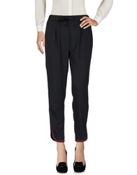 Le Ragazze Di St. Barth Casual Pants Black
