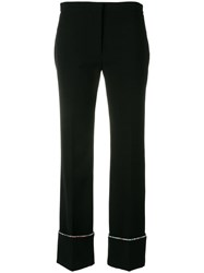 Marco De Vincenzo Embellished Tailored Trousers Black